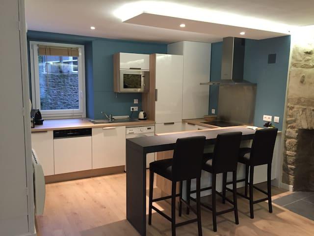 Charmant Appartement T3, Saint-Servant centre - Saint-Malo - Apartamento
