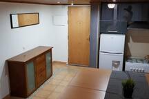 Cozinha e Hall de entrada