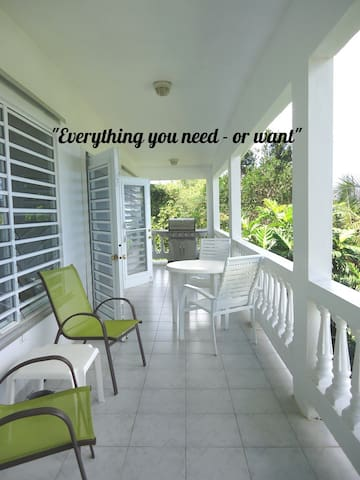 Large 1-Bedroom Home with Fabulous Ocean Views - Vieques - Hus