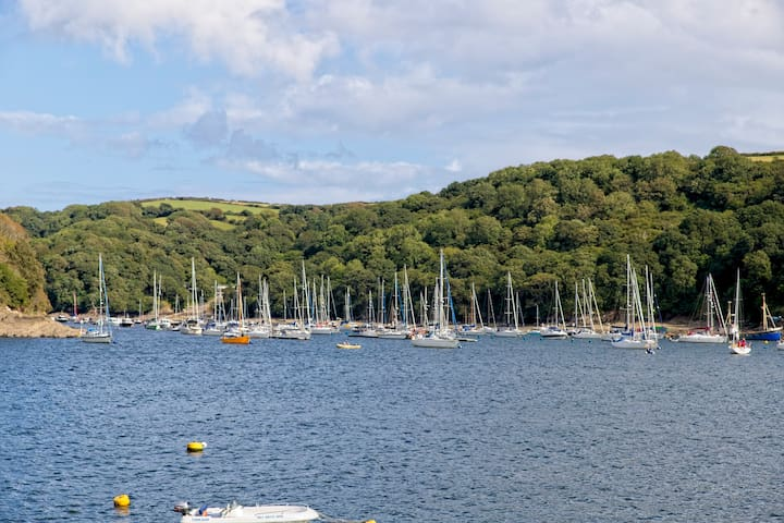Fowey harbour.