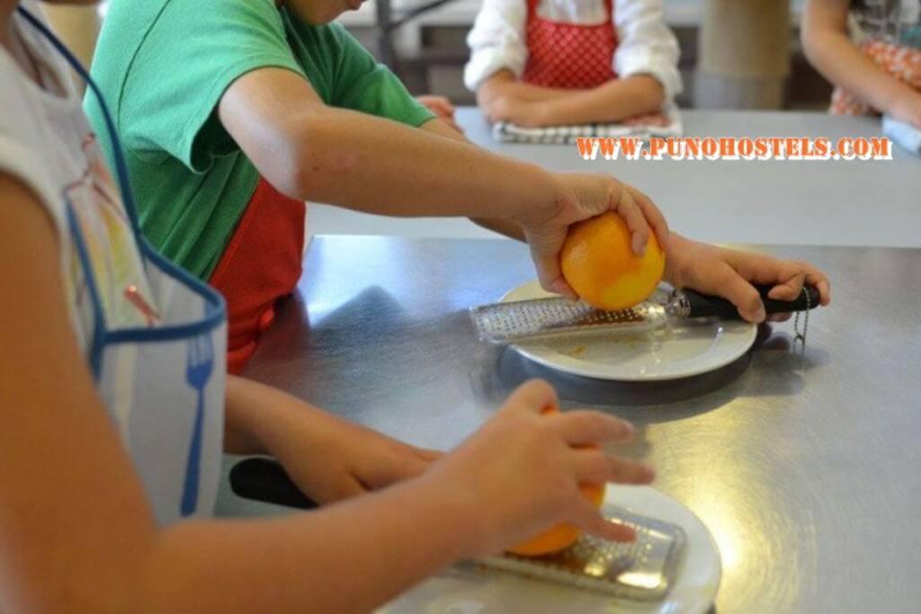 Cocina para preparar sus alimentos