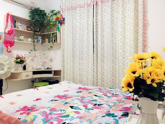 司门口户部巷黄鹤楼大桥 温馨舒适两居室地铁房公寓日租 - 武汉 - Bed & Breakfast