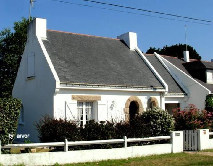 Le Pouliguen villa proche côte sauvage MAIS 05178