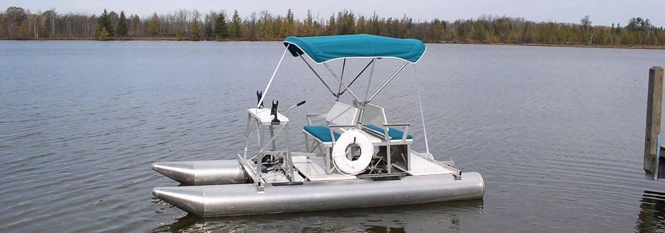 Aqua Cycle (pontoon pedal boat)