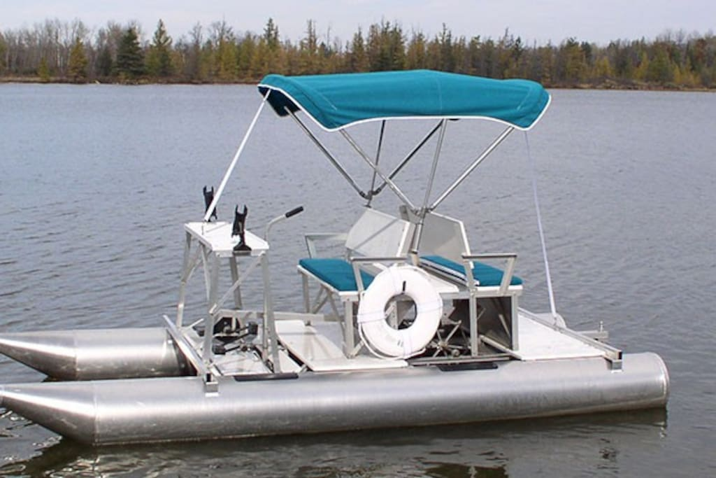Aqua Cycle-pontoon pedal boat