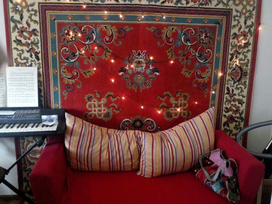 Wohnzimmer, Sofa - dining room, coosy corner