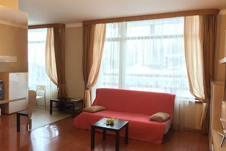 Уютные апартаменты (64м) в центре Красной поляны - ソチ - アパート