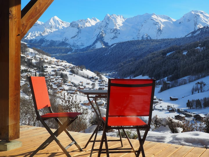 Appartement face aux Aravis