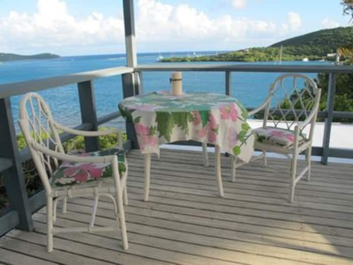 Oceanfront Villa: sunny decks, spectacular view