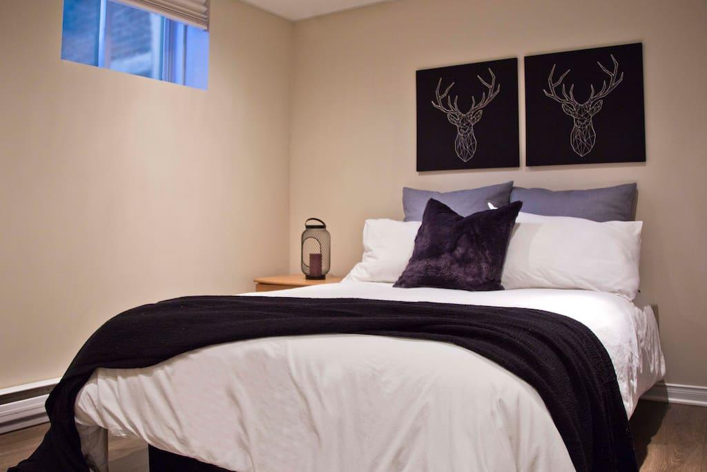 Bedroom C- 1 double bed