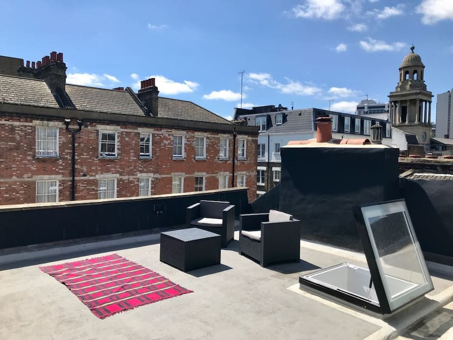 Huge Private Roof Terrace