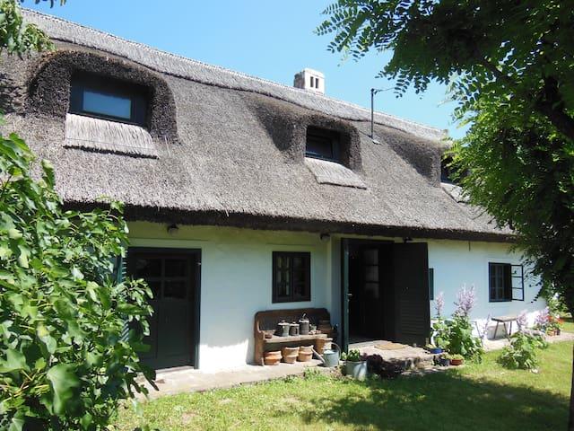 Köveskáli nádtetős családi ház - Köveskál - Huis