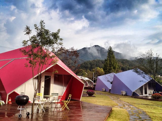 BANU -- boutique tented resort - Bukbang-myeon, Hongcheon-gun - Tent