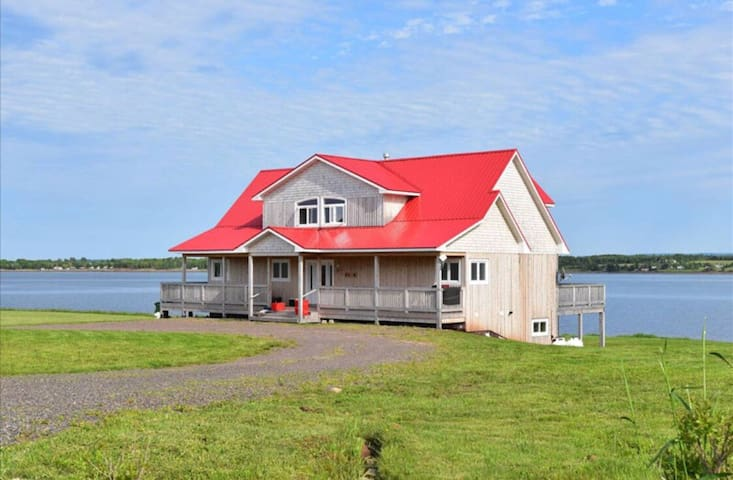 The Red Roof Beach House