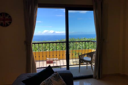 Azul & Verde, 2 Bedroom Sea View Flat in La Palma