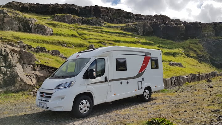 Faroe Camper 1 - Probably the best way to explore!