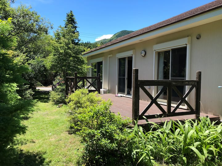 Holiday cottage in Sengokuhara - Hakone. 3 bikes