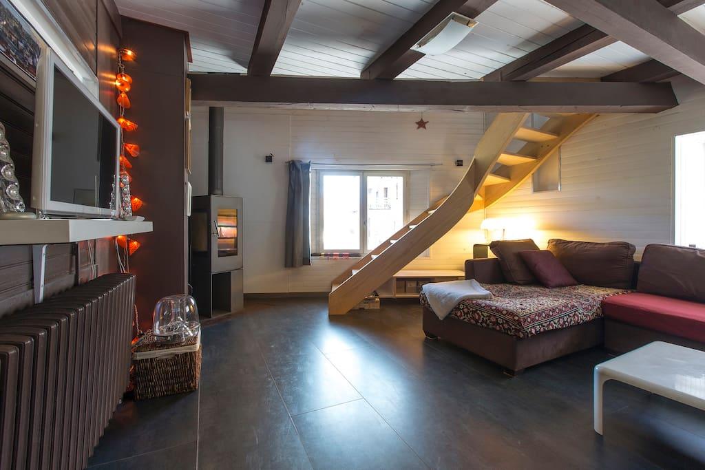Superbe villa entre annecy gen ve maisons louer for Annecy maison a louer