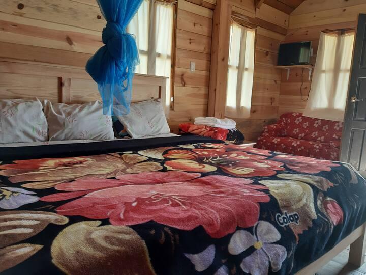Cabaña Paraíso Tziscao | 2 | para 4 personas