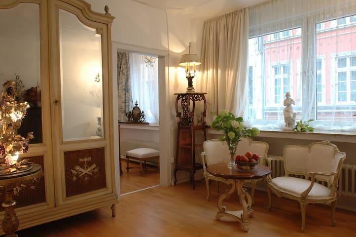 sehr geschmackvolle Antikflair-Wohnung im Centrum