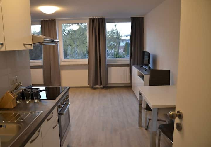 2 Bett Apartment mit Küche - WC/Bad (No 2.)