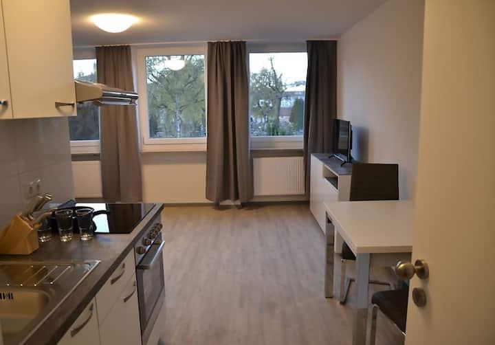 2 Bett Apartment mit Küche - WC/Bad (No 2.)