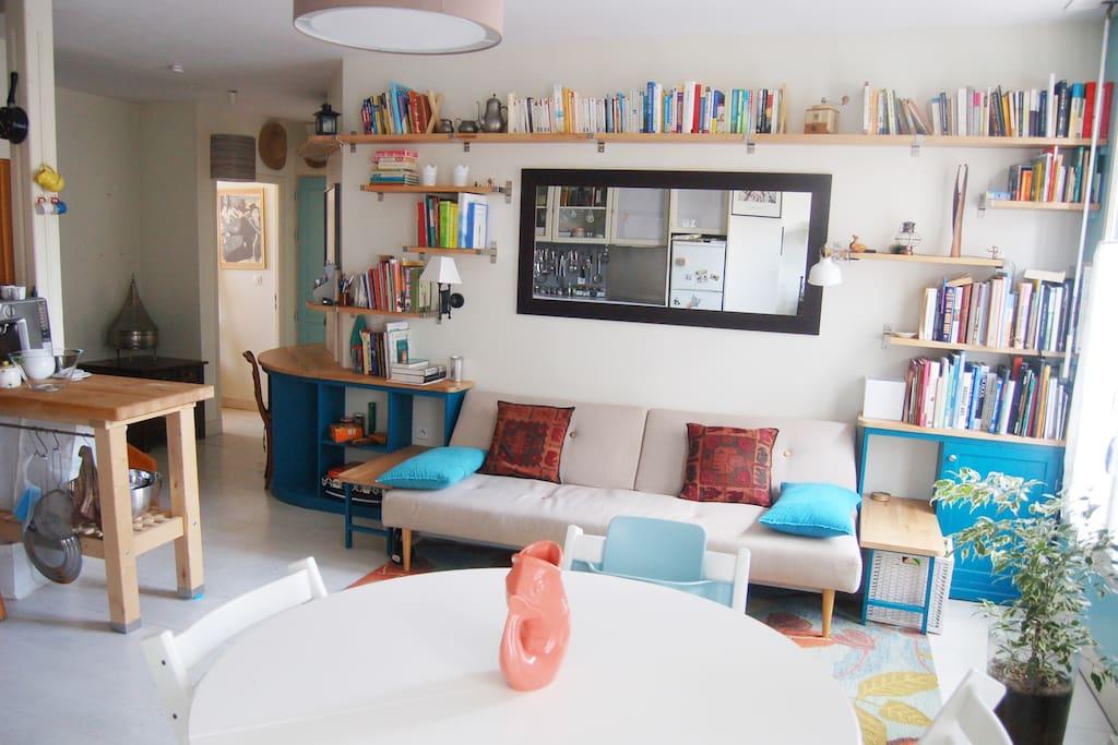 Bel appartement lumineux en plein centre ville - Appartement spacieux lumineux en suede ...