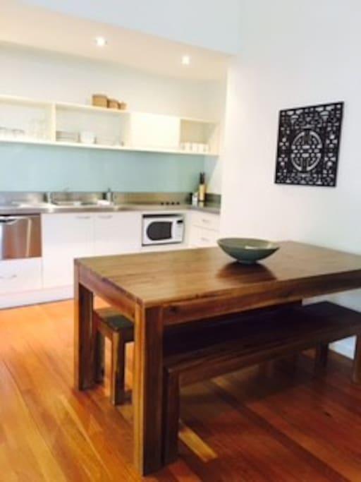 Kitchen + Dinningroom