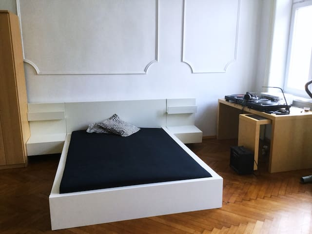 Spacious room (heart of the city)