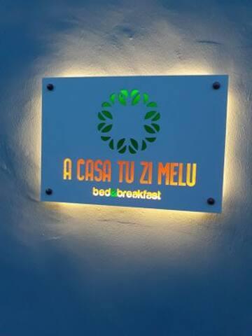 A casa tu zi Melu b&b camera doppia