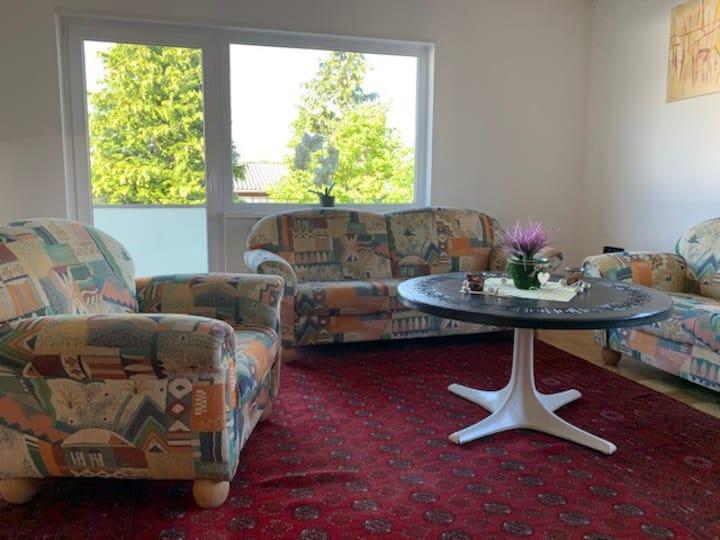 95 qm Wohnung nahe an Sinsheim/Walldorf/Heidelberg