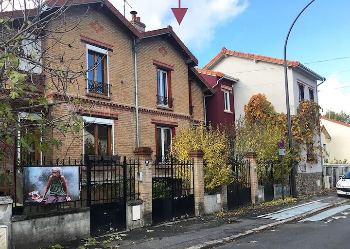 Maison de ville 1920 tout proche de Paris