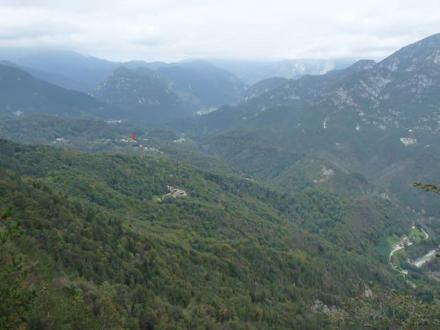 Villetta in Val d'Arzino - Pielungo - Casa