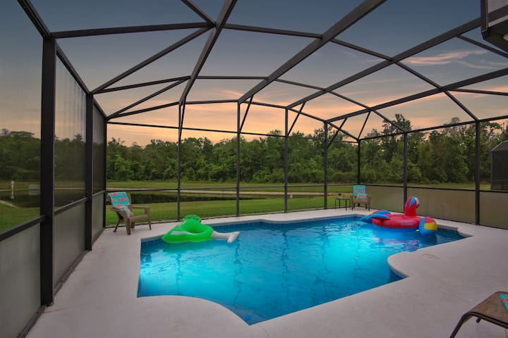 Margaritaville Style Private Pool Home Near Disney