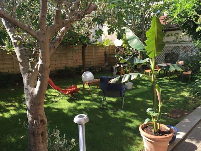 Appartement avec jardin/terrasse - La Garenne-Colombes - Apartamento