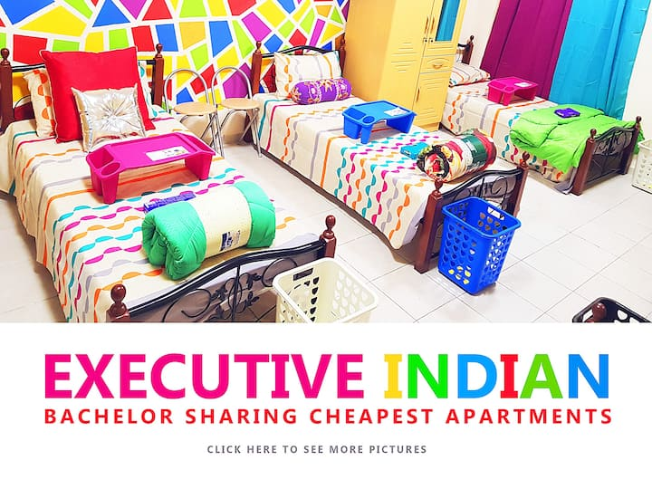 INDIAN MALE CHEAPEST AFFORDABLE LONG STAY IN DUBAI