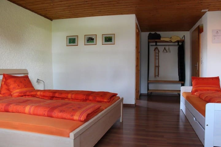 Maison de vacances - Les Hirondelles, (Montfaucon), Maison de vacances Les Hirondelles, (Montfaucon), 1-16 pers., 6 rooms