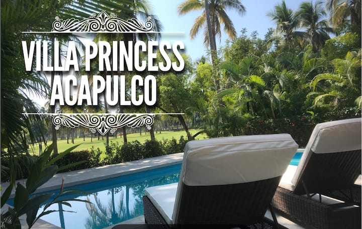 VILLA PRINCESS en Campo de Golf  / Alberca Privada