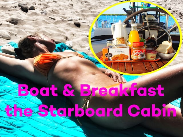 Budget Stay on a Boat & Breakfast, Be Different!