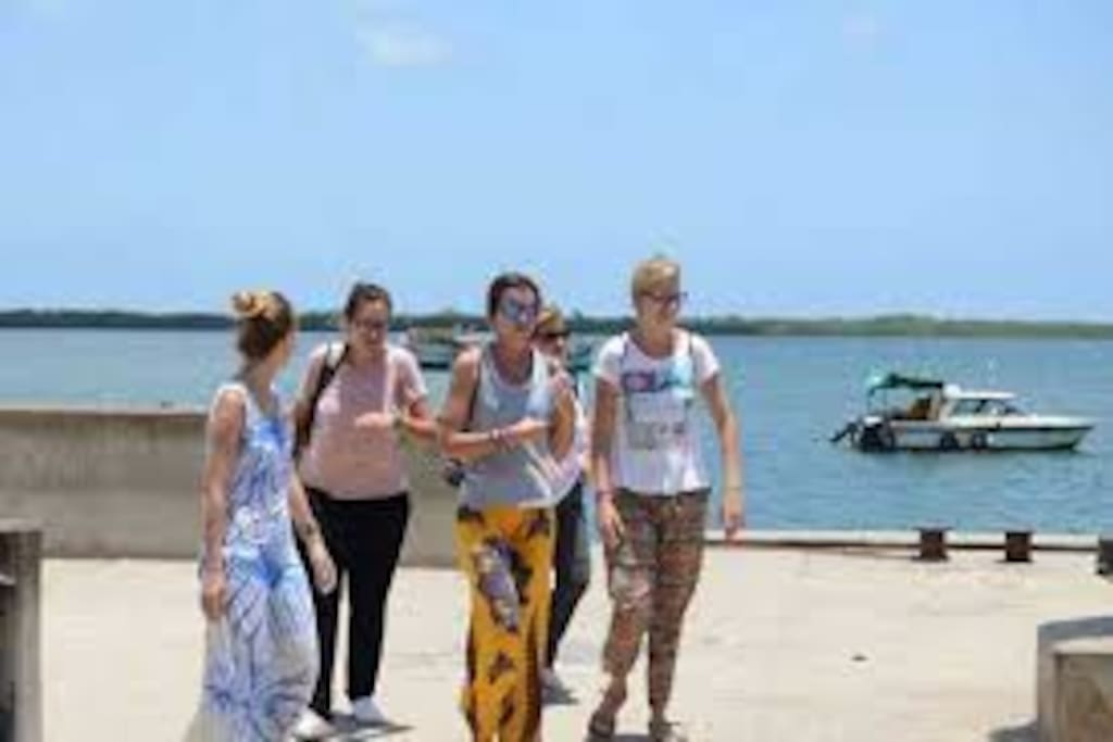 Interact with visitors who are fond of visiting Mombasa.