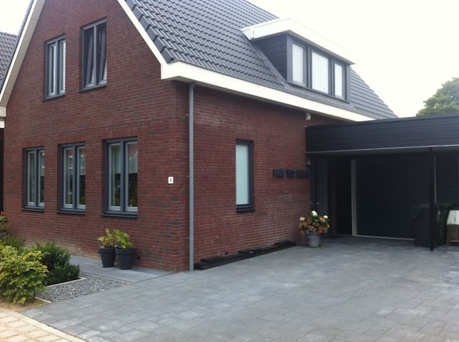House with private parking