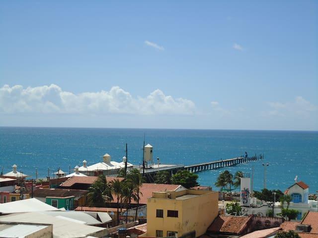 Flat 2 quartos, Praia de Iracema, Fortaleza