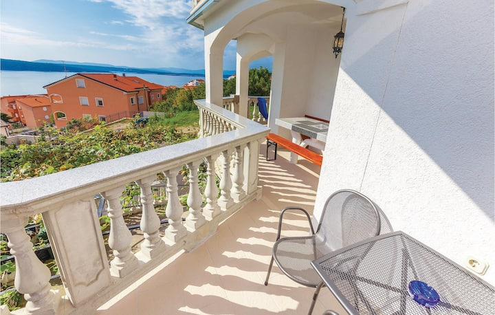 Beautiful home in Crikvenica with WiFi and 0 Bedrooms