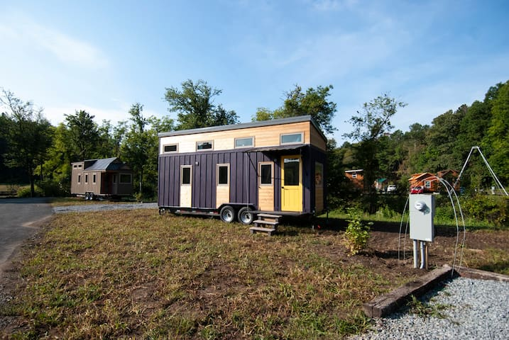 Located in the gated Acony Bell Tiny Home Village.