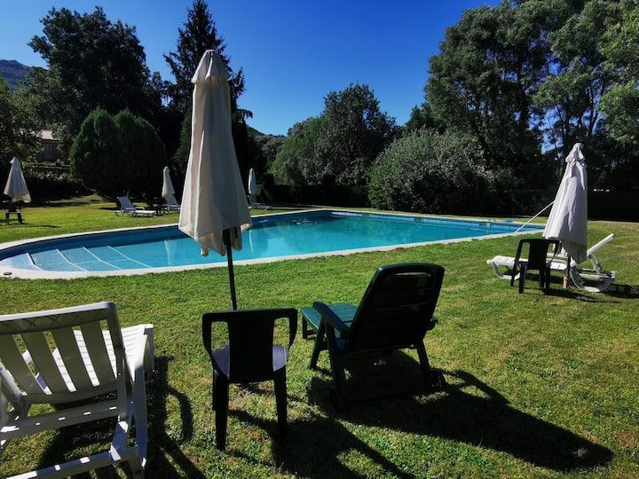 Casa para 5 p. c/piscina - Quinta da Ponte Guarda
