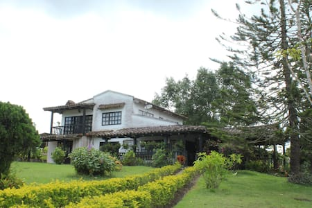 Hermosa y Amplia Casa Quinta cerca a la Cumbre - La Cumbre - Multipropietat (timeshare)