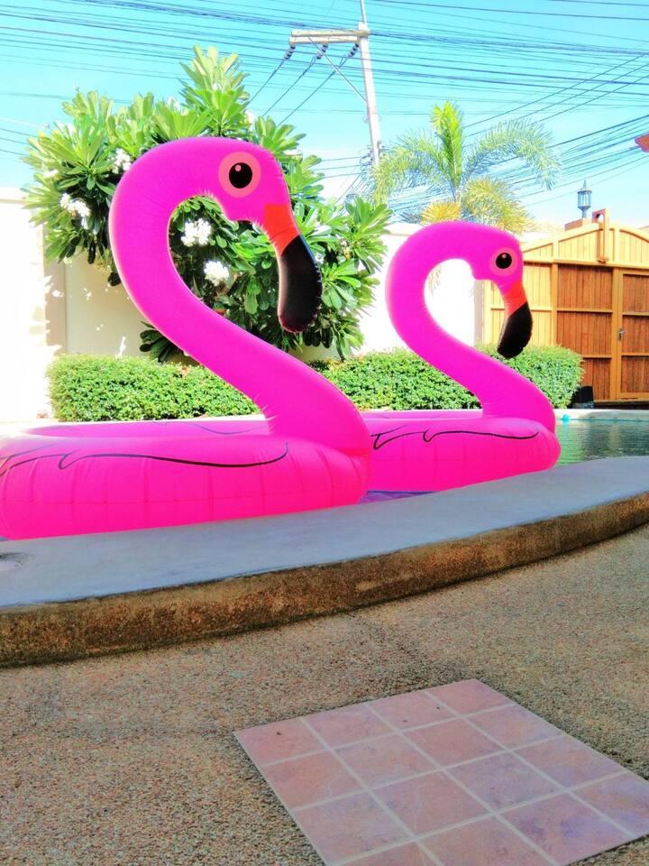 บ้านบีเลิฟ(be loved pool villa)