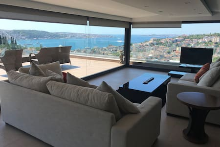 Airbnb's best Penthouse Seaview istanbul 450sqmetr