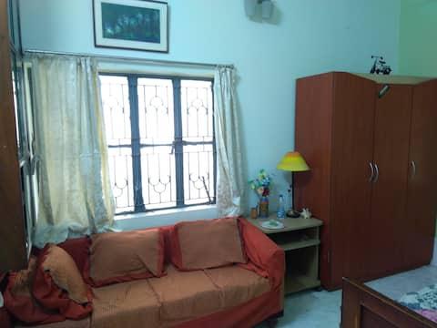 Furnished, secured house in Kamalgazi/Narendrapur.