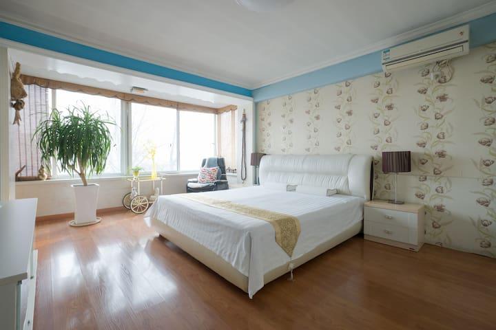 高级复式公寓  好友小聚 休闲度假 全家出游 - Beijing - Lägenhet